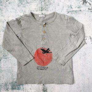 PICNIK BARCELONA • Tomato Long Sleeve Henley